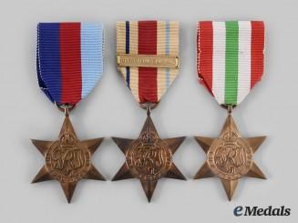 United Kingdom. Three Second War Stars
