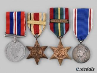 United Kingdom. Four King George VI Era Awards