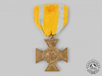 Saxony, Kingdom. A Commemorative Cross of 1863/1864