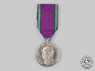 Saxe-Altenburg, Duchy. A Saxe-Ernestine House Order Merit Medal by Friedrich Ferdinand Helficht