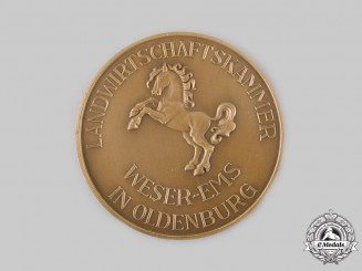Germany, Imperial. An Oldenburg Chamber of Agriculture Animal Breeding Merit Medal