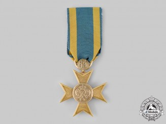 Germany, Imperial. A Merit Cross, Gold Grade, for 65 Years