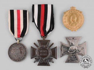 Germany, Imperial. A Lot of Medal and Badges