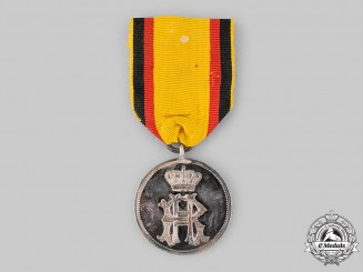 Reuss, Principality. A Silver Medal of Merit, c.1900