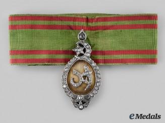 "Tunisia. An Order of Glory (Nishan al-Iftikhar) Ahmad Bey ""Special Grade"" Badge"