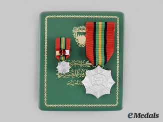 Bahrain, Kingdom. An Order of Military Service, II Class, c.1976