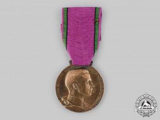 Saxe-Coburg and Gotha, Duchy. A Saxe-Ernestine House Order, Golden Merit Medal, c.1910