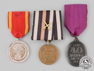 Germany, Imperial. A Lot of Three Medals