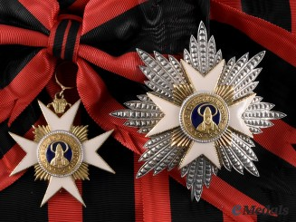 Vatican City. An Order of St. Sylvester, Grand Cross, by G. Guccione, c.1960