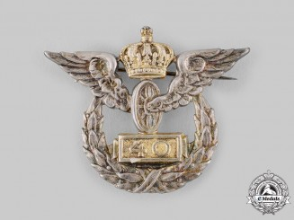Germany, Imperial. A Prussian State Railway 40-Year Long Service Badge by Johann Wagner & Sohn, c.1910