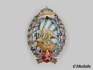 Bulgaria, Kingdom. An Air Force Observer Badge, c.1935