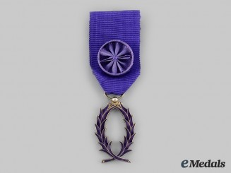 France, IV Republic. An Order of Academic Palms, II Class, c.1960