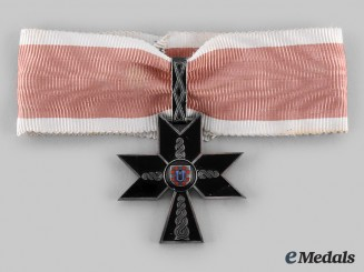 Croatia, Independent State. An Order of the Iron Trefoil, I Class