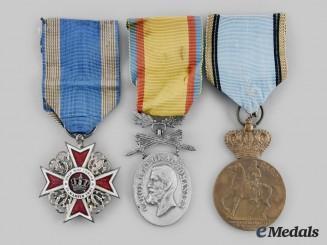 Romania, Kingdom. Three Awards & Decorations