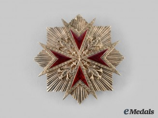 Italy, Tuscany. A Military Order of Saint Stephen, Grand Cross Breast Star, c. 1840