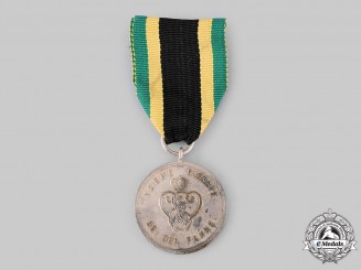 Saxe-Weimar, Grand Duchy. A Long Service Medal, III Class for 9 Years, c.1915