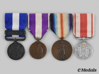 Japan, Empire. A Lot of Four Medals
