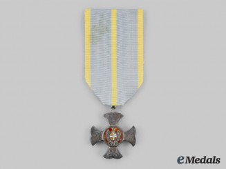 Italy, Kingdom. A Merit Cross for Long Service in the Financial Police, II Class Cross, c.1920