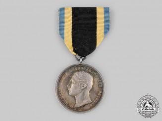 Saxe-Weimar and Eisenach, Grand Duchy. A General Merit Decoration, Silver Grade, c.1915