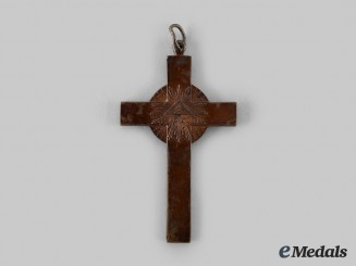 Russia, Imperial. An Eastern Orthodox Chaplain's Pectoral Commemorative Cross for the War of 1812