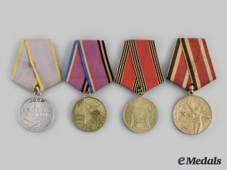 Russia, Soviet Union, Federation; Ukraine. A Lot of Four Medals