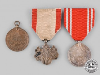 Japan, Empire. Three Awards & Decorations