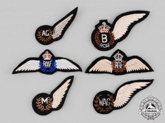 Canada, Australia, United Kingdom. Six Air Force Wings