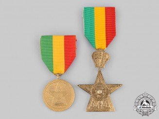 Ethiopia, Empire. An Order of the Star of Ethiopia, IV and V Class, by B.A.Sevadjian