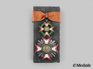 Ivory Coast, Republic. A National Order of the Republic, Commander with Case, by A. Chobillon, c.1960