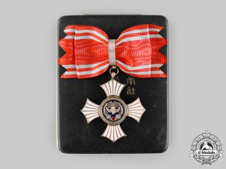 Japan, Empire. A Red Cross Society, Silver Merit Cross for Women