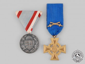 Austro-Hungarian, Empire. Two First War Awards