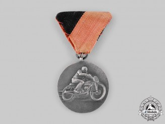 Hungary, People's Republic. A Freedom Fighters Association Motorcycle Riding Competition Medal