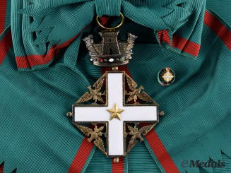 Italy, Republic. An Order of Merit, I Class Grand Cross, c.1955