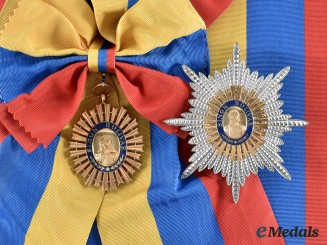Venezuela, Republic. An Order of the Liberator, I Class Grand Cross, c.1980