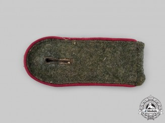 Germany, Heer. A Smoke Troops Enlisted Personnel Shoulder Strap