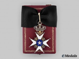 Sweden, Kingdom. An Order of the North Star, Commander, by C.F.Carlman, c. 1915