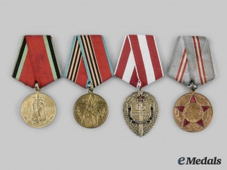 Russia, Soviet Union. A Lot of Single Mounted Medals