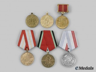 Russia, Soviet Union. A Lot of Medals