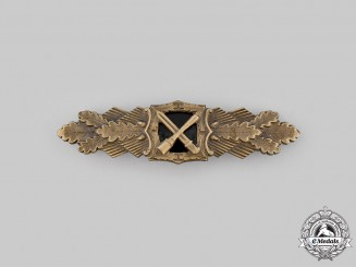 Germany, Federal Republic. A Close Combat Clasp, Bronze Grade, 1957 Version