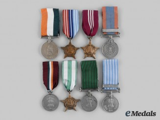 India, Republic. A Lot of Eight Awards