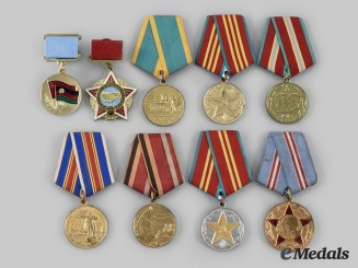 Russia, Soviet Union. A Lot of Nine Awards