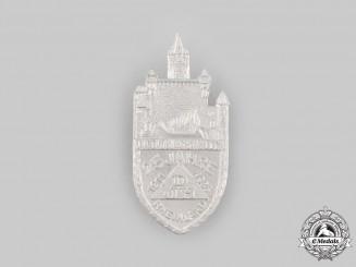 Germany, Third Reich. A German Youth Hostel Association (DJH) 25th Anniversary Badge by Ferdinand Hoffstätter