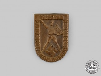 Germany, Third Reich. A German Youth Hostel Association (DJH) War Victims' Day Badge by H. Wittmann