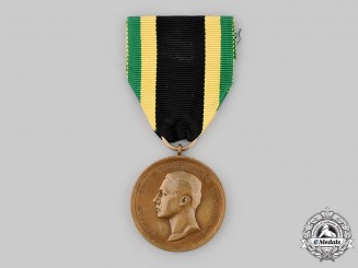 Saxe-Weimar, Grand Duchy. A General Honour Medal in Bronze 1914