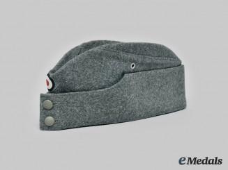 Germany, Heer. An EM/NCO M42 Overseas Cap, c. 1942