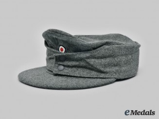 Germany, Heer. An EM/NCO M43 Field Cap, c.1944