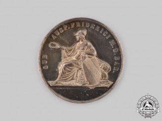 Baden, Grand Duchy. A Silver Scholar Medal to Hans von Bulmerincq