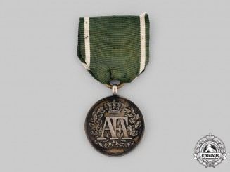 Saxony, Kingdom. A Long Service Medal, II Class for 15 Years, c.1890