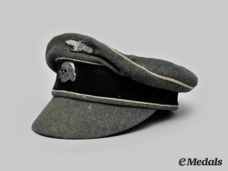 Germany, SS. A Waffen-SS Infantry Officer's Crusher Cap