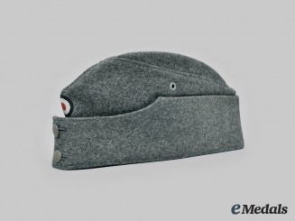Germany, Heer. An EM/NCO's M42 Overseas Cap, by Kurtze & Storckmann
